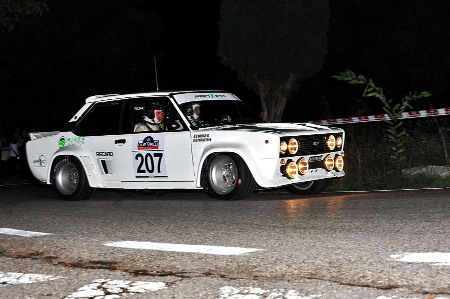 Nicola Patuzzo-Giuseppe Borgo (Fiat 131 Abarth # 207)